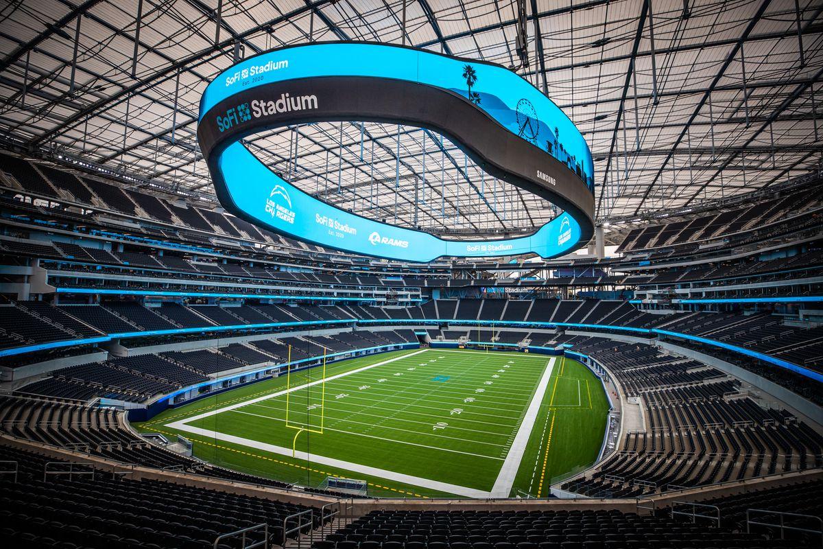 SoFi Stadium Ribbon-Cutting Event