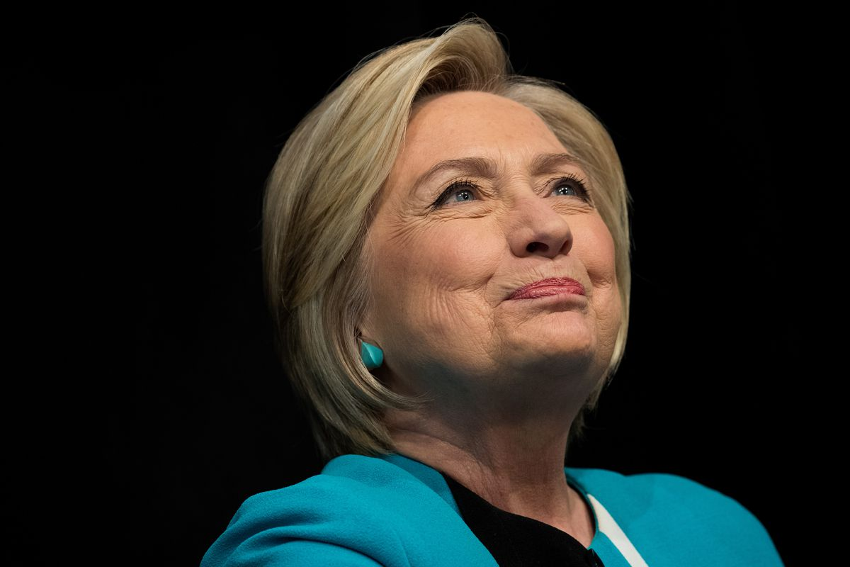 Hillary Clinton Signs Copies Of Her New Book 'What Happened' In NYC
