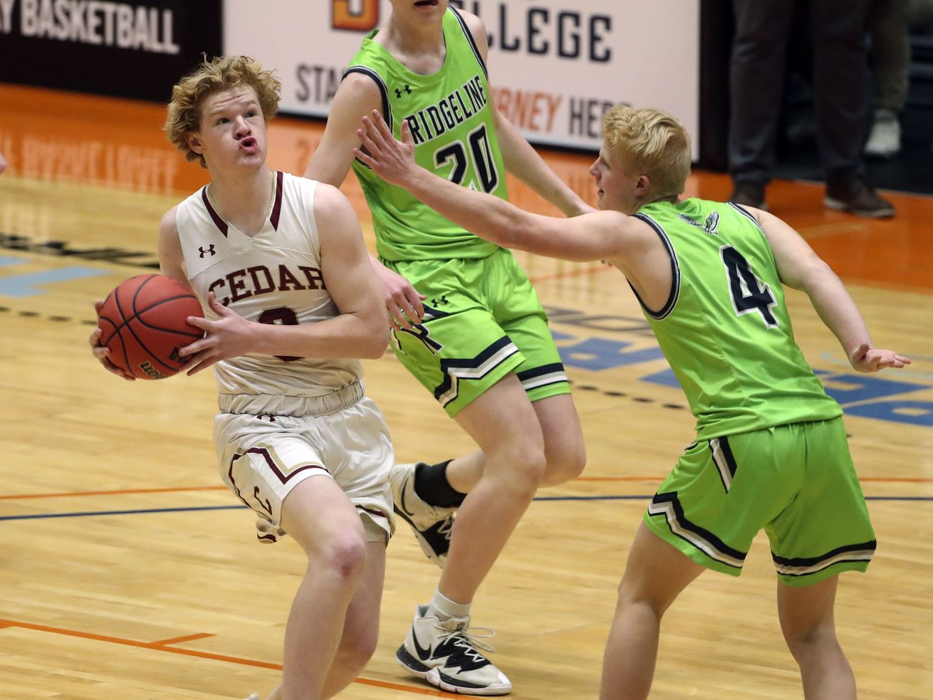 High school boys basketball: Cedar finds its groove as it marches into 4A title game with semifinal win over Ridgeline