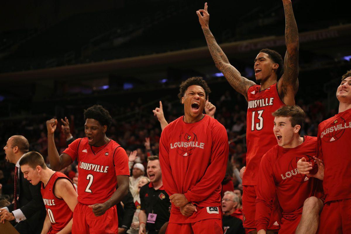 NCAA Basketball: Memphis at Louisville