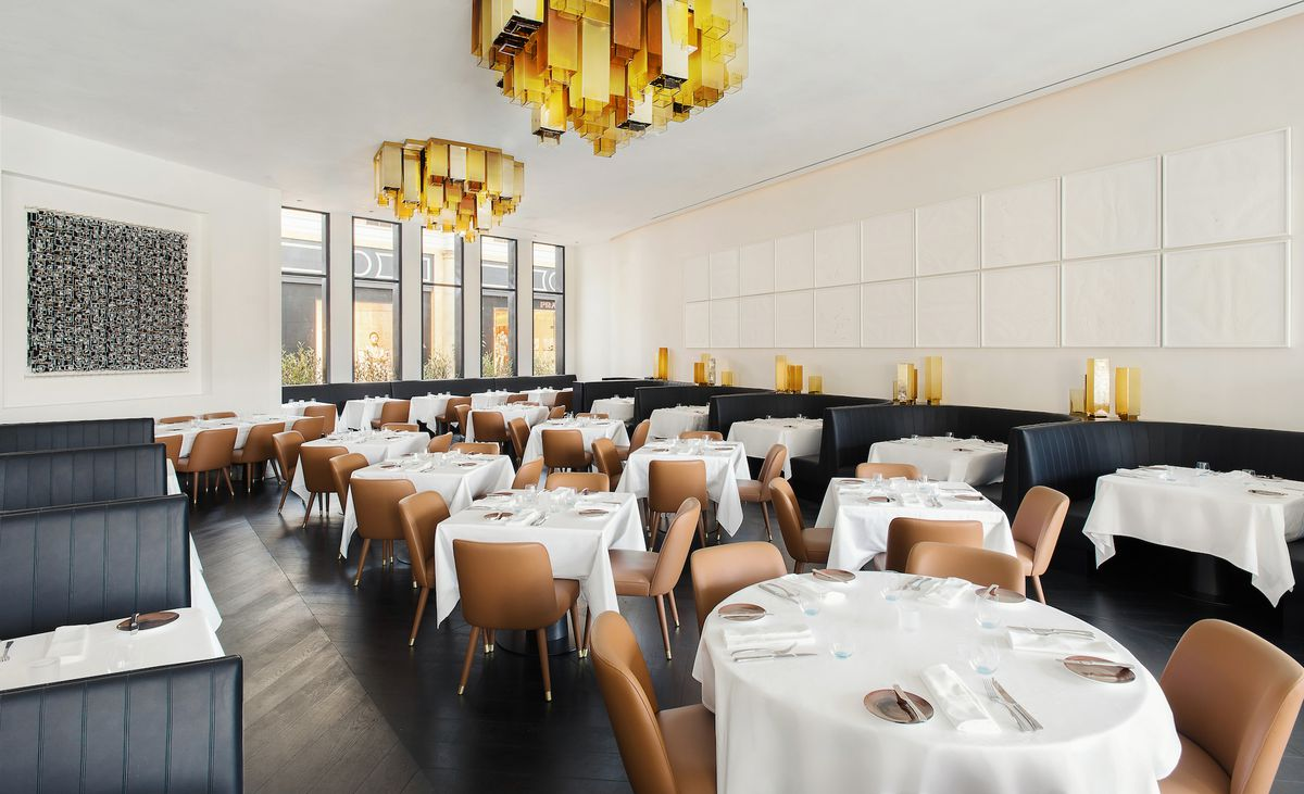 The main dining room at Spago