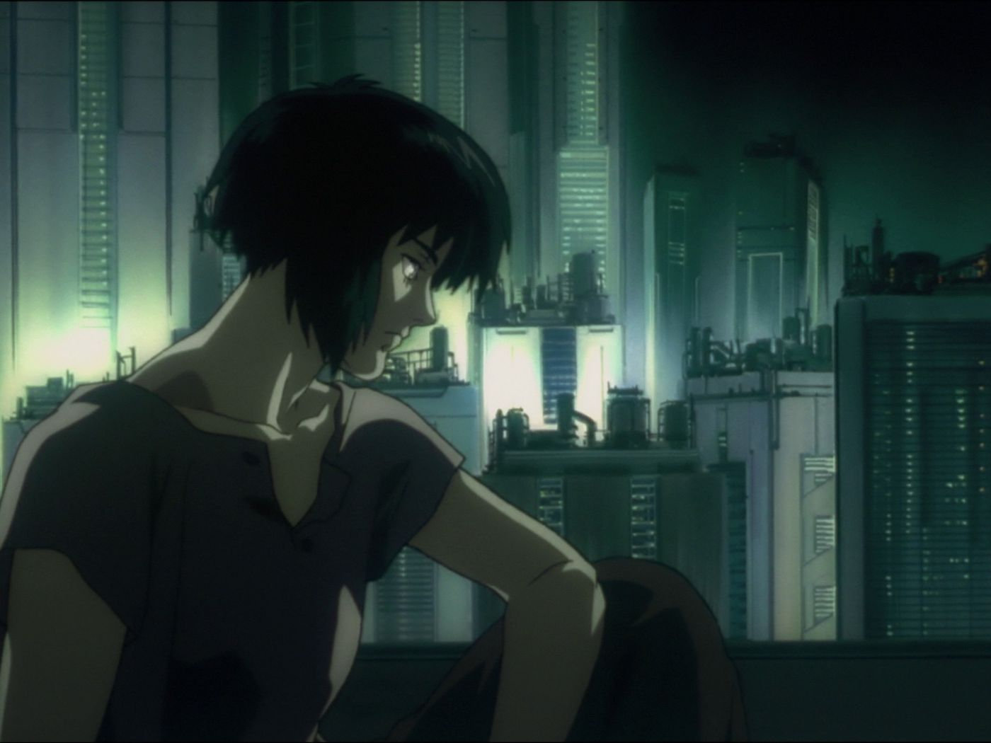 The Original Ghost In The Shell Is Iconic Anime And A Rich Philosophical Text Vox