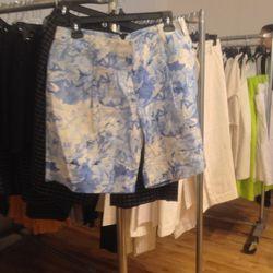 Floral shorts, $50