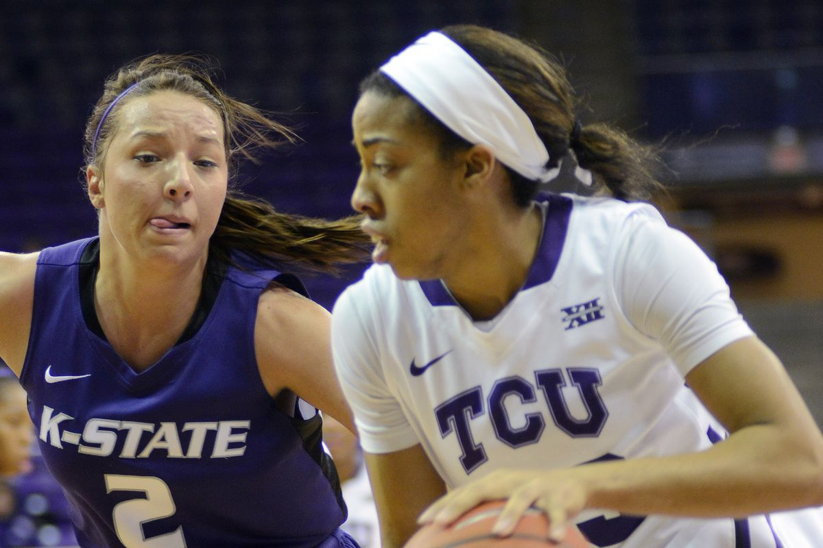 Brittany Chambers in action against TCU in 2013