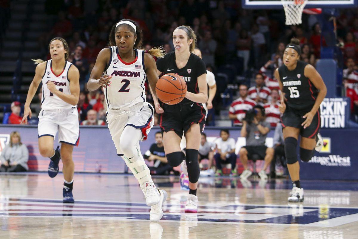 COLLEGE BASKETBALL: FEB 28 Women's Stanford at Arizona