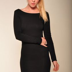 Paper Crown black jersey dress from A.sweeT., $189