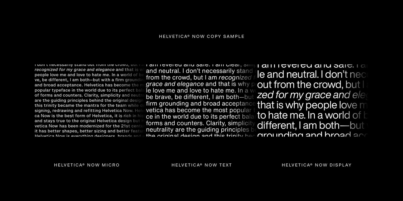 Behind the process of Helvetica's 21-century facelift - The Verge