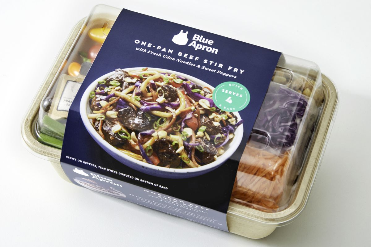 Blue Apron shares rise after Reports of selling Meal Kits in Store