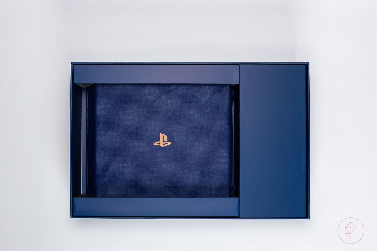 ps4 limited edition blue unboxing
