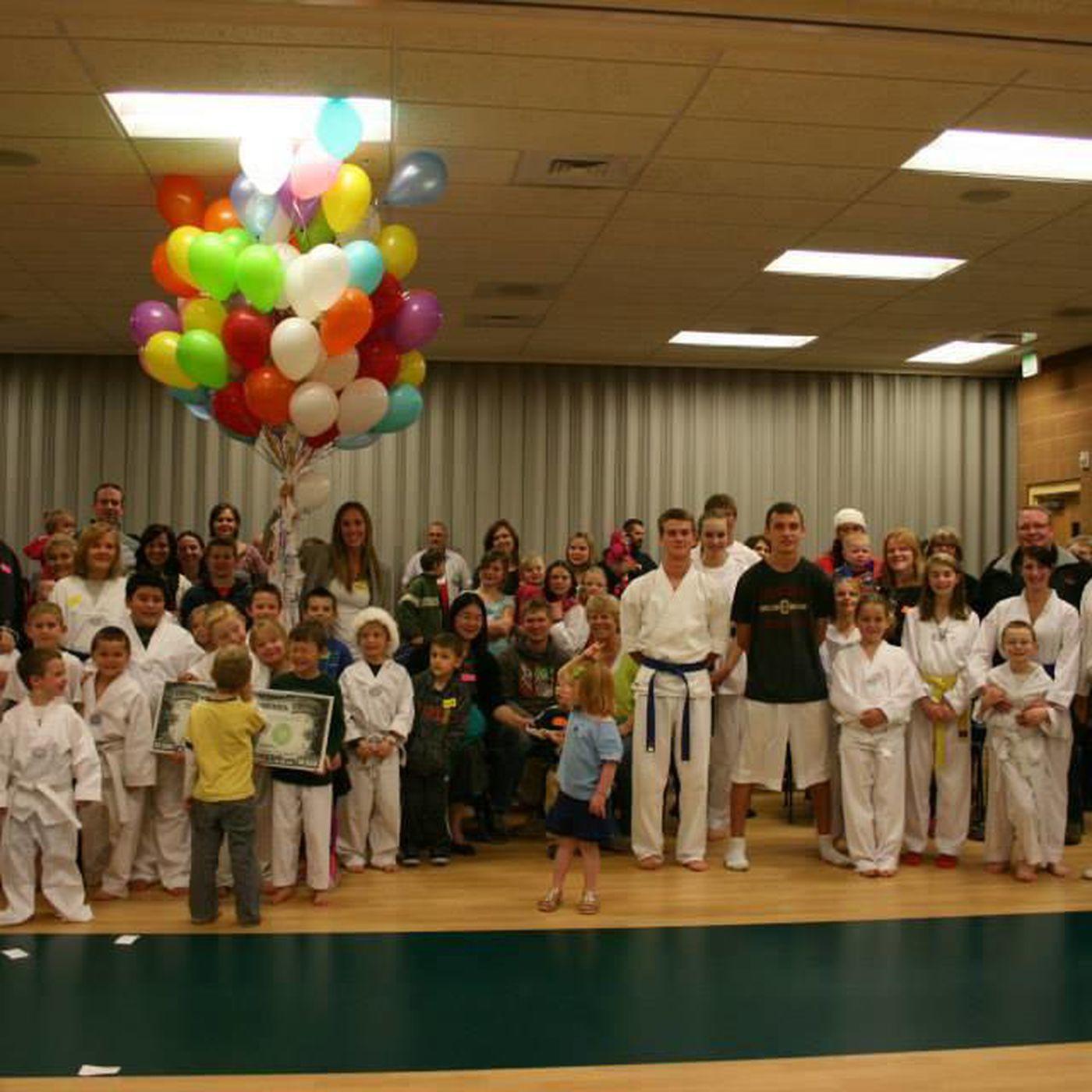 Cedar City taekwondo instructor donates funds to help women
