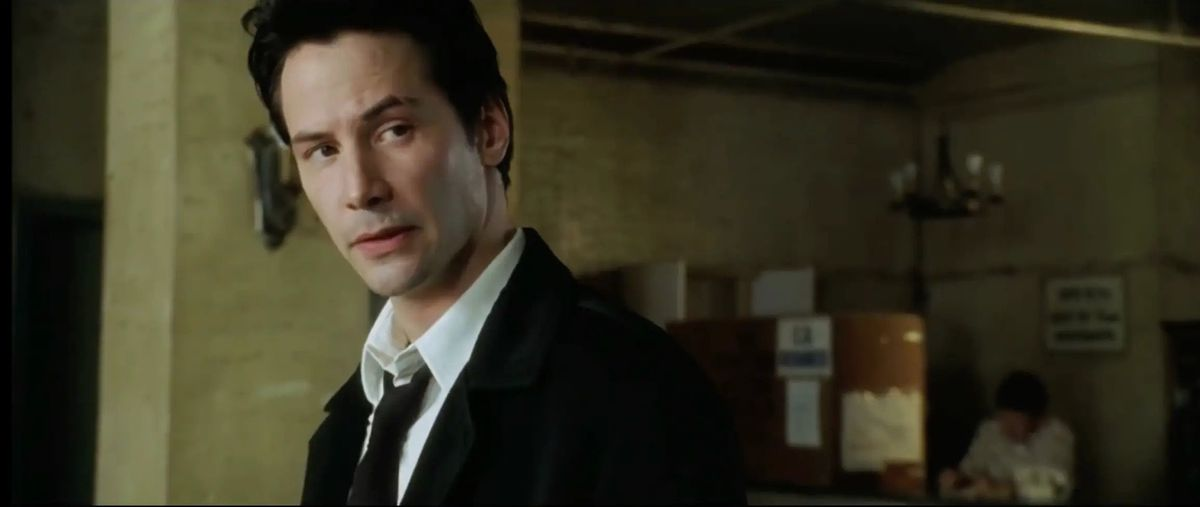 Keanu Reeves as John Constantine in 2005's Constantine