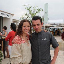 Mexico City chefs Elena Reygadas and Edgar Nunez.