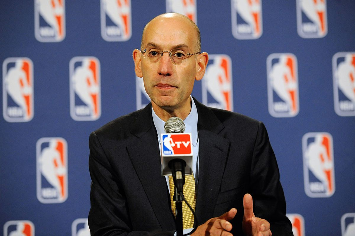 Adam Silver is in favor of the Sixers' rebuilding strategy.