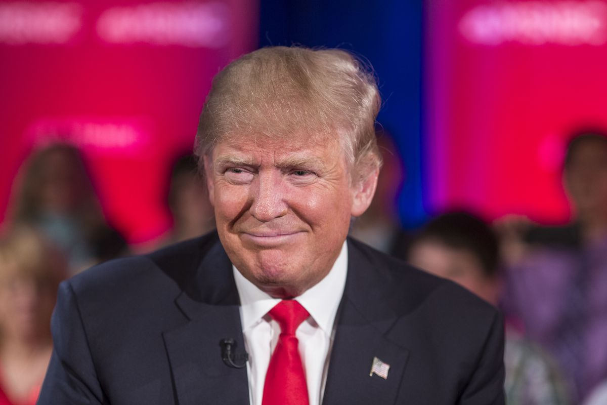 Republican Candidate Donald Trump Takes Part In Televised Town Hall In Green Bay