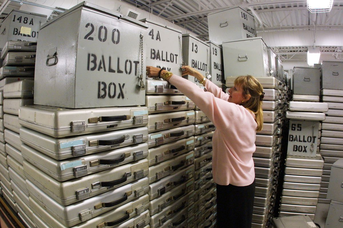 Florida's 2000 Ballot Boxes To Be Auctioned
