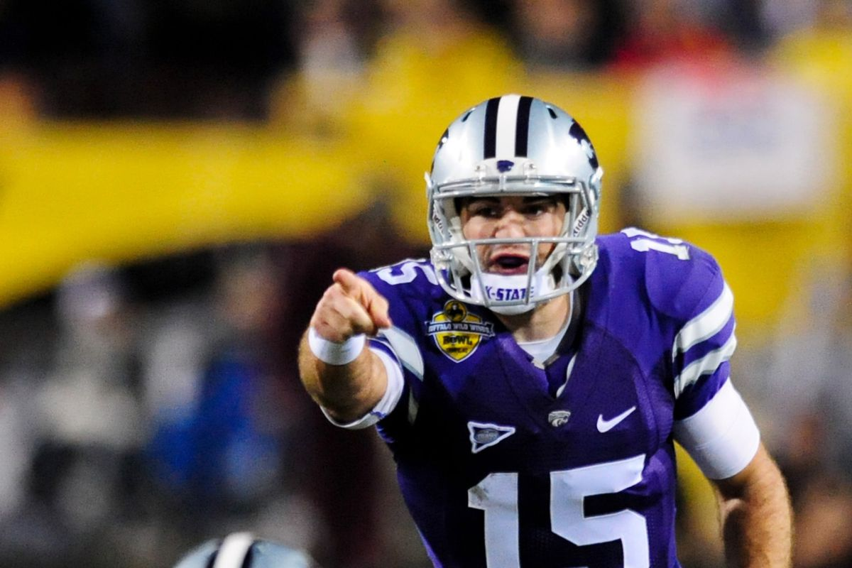 Bill knows keeping this guy healthy could be critical to Kansas State's success.