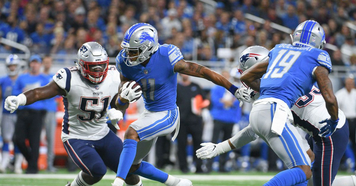 The Lions beat the Patriots to cap off a weird-ass NFL Sunday