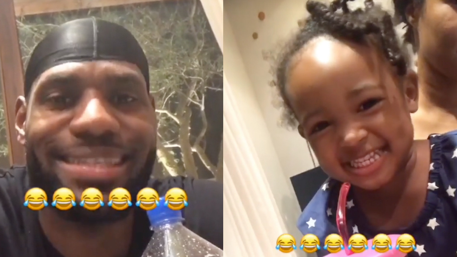Lebron James Beatboxing With His Daughter On Ig Is The
