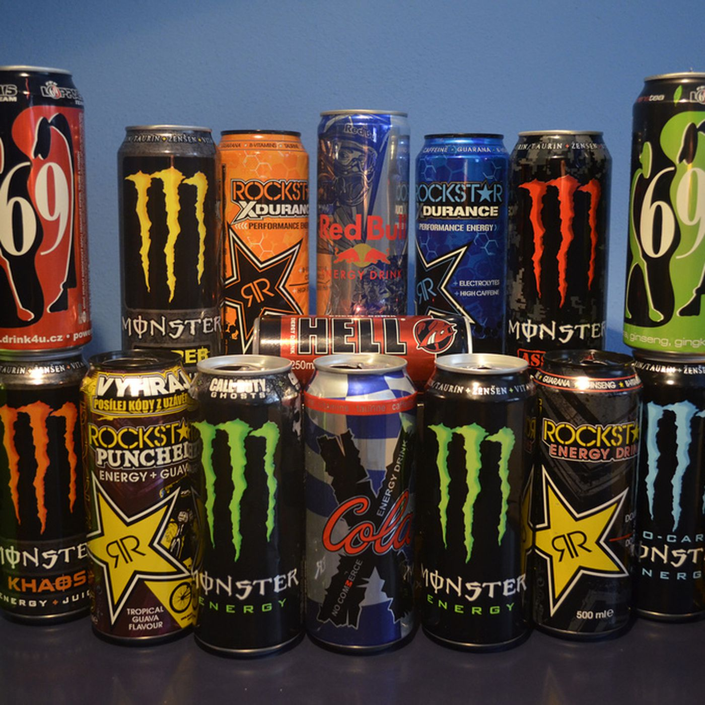Too Many Energy Drinks Can Apparently Give You Hepatitis Eater