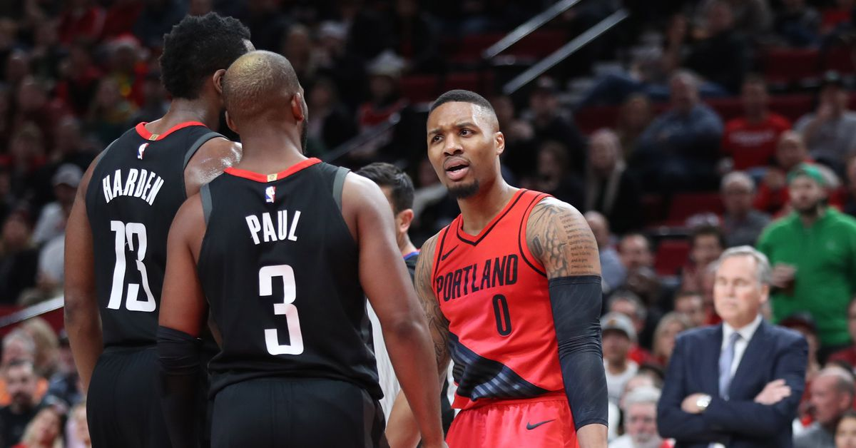 Chris Paul and Damian Lillard started Rockets-Blazers beef that hasn't been settled yet