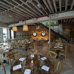 """<a href=""""http://ny.eater.com/archives/2012/06/rosemarys_an_italian_restaurant_with_a_rooftop_farm.php"""">NYC: <strong>Rosemarys</strong>, an Italian Restaurant with a Rooftop Farm</a> [Krieger]"""
