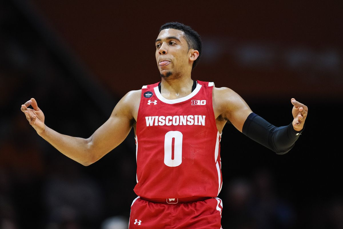 NCAA Basketball: Wisconsin at Tennessee