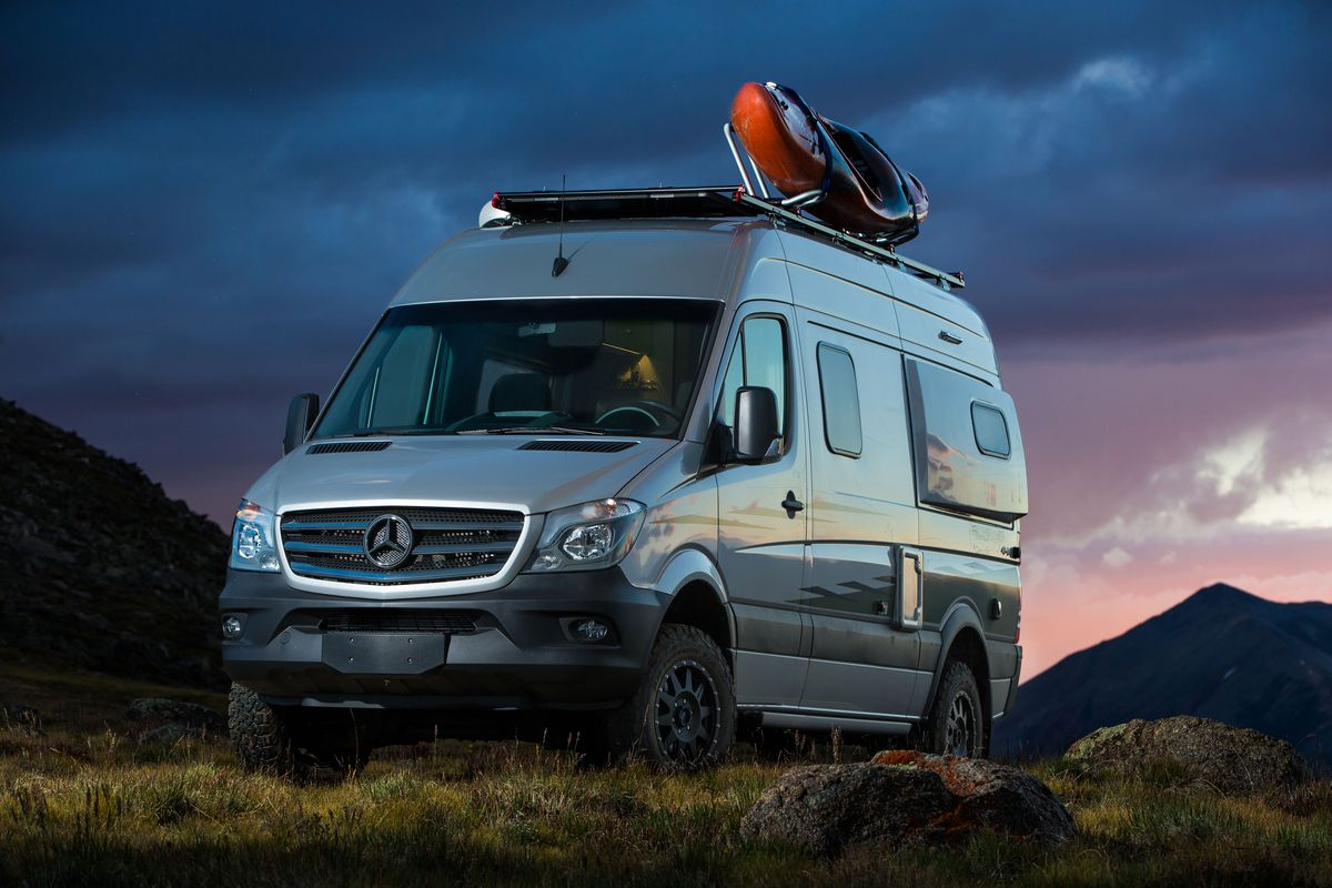 Mercedes Minivan For Sale >> Winnebago's new Revel camper van is not your grandfather's RV - Curbed
