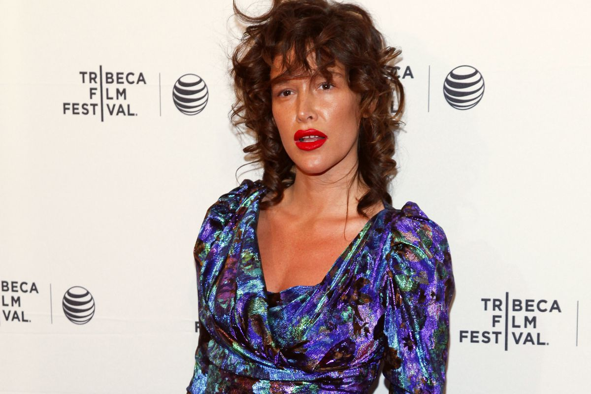 """FILE - In this April 19, 2015 file photo, Paz de la Huerta attends the Tribeca Film Festival world premiere of """"Bare"""" at the SVA Theatre in New York. The lawyer for de la Huerta, who accused Harvey Weinstein of rape said Friday, Dec. 1, 2017, that she is"""