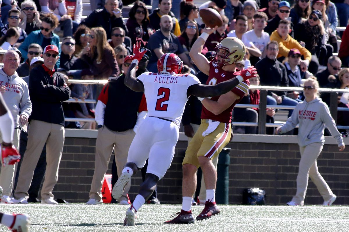 COLLEGE FOOTBALL: OCT 19 NC State at Boston College