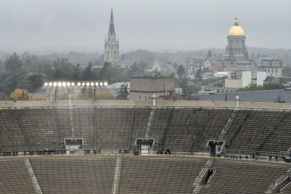 Your Weather Report for Today's Notre Dame Game in South Bend