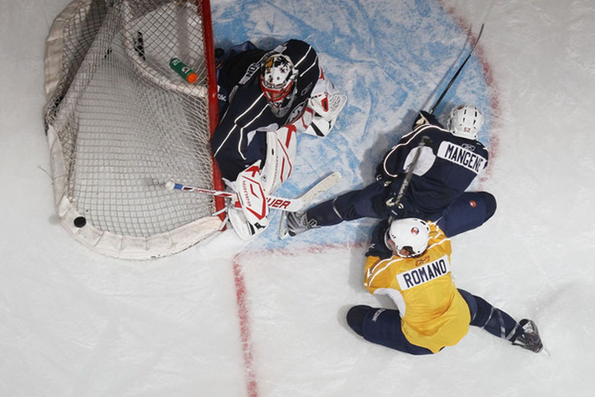 Guess which goalies started this week and who sat? Answer at the end.