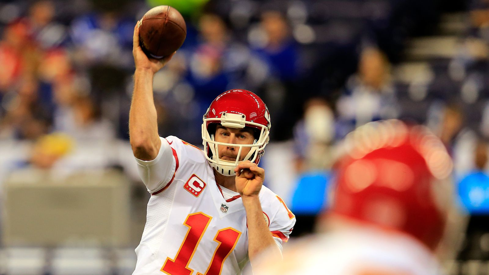 Rockets Vs Grizzlies >> Chiefs vs. Colts score update: Alex Smith throws 3 first