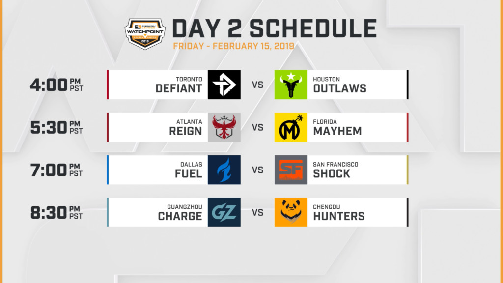 Overwatch Event Calendar.Overwatch League Announces Road Matches Opening Schedule For Season