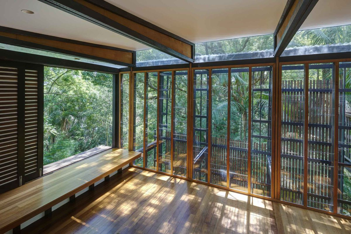 Buy this magical indoor-outdoor house that disappears into the