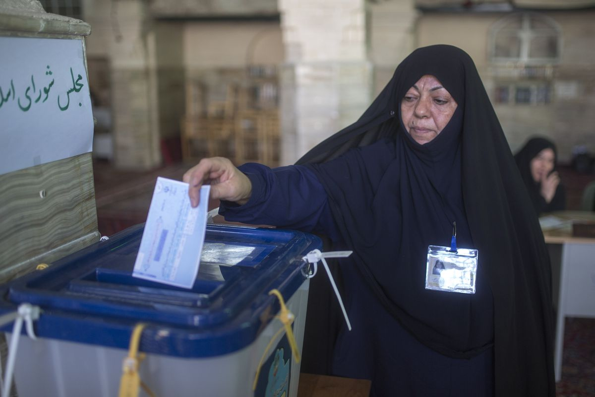 Iranian Vote In parliamentary And Assembly Of Experts Elections