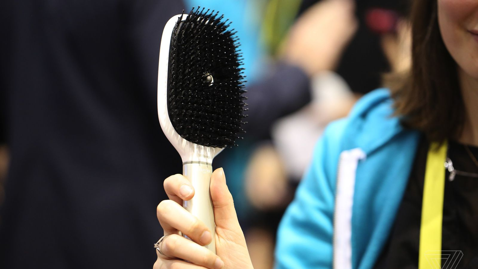 Withings and L'Oreal have made a smart hair brush, in the latest edition of 'You're doing it wrong'