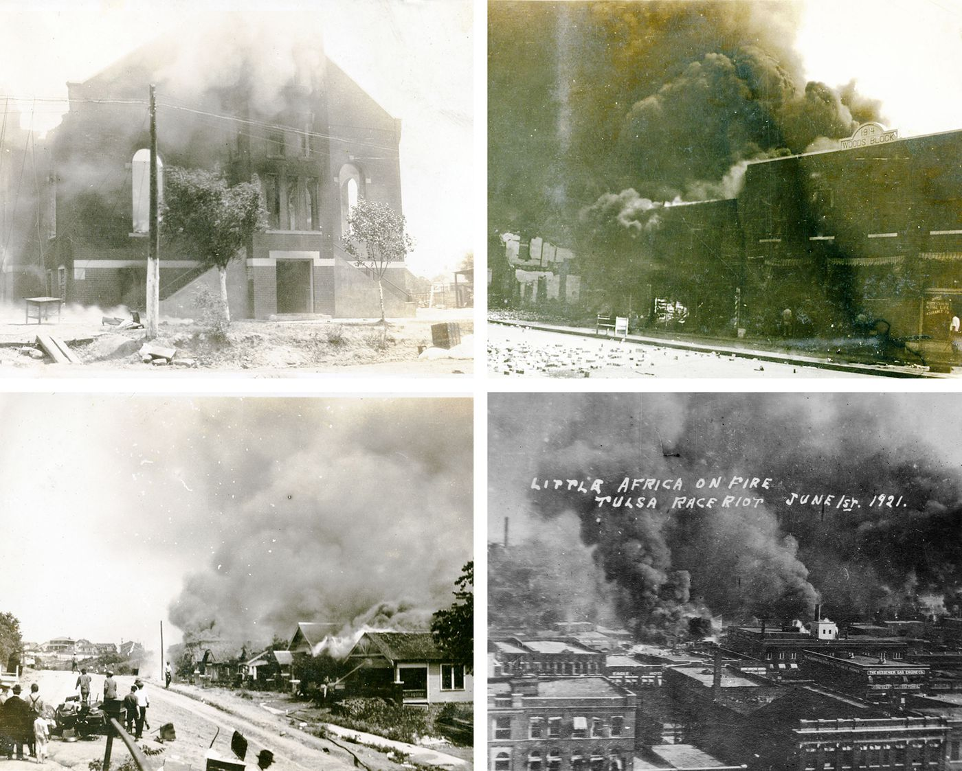 Tulsa's Black Wall Street Burned and Then Rose From the Ashes - The