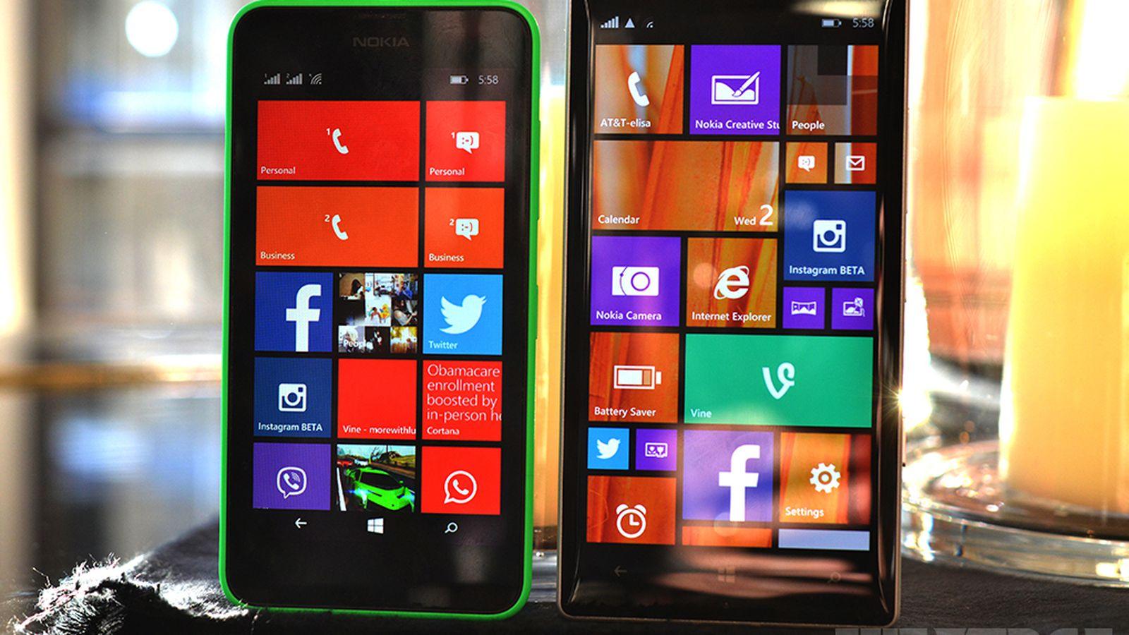 a closer look at nokia u0026 39 s windows phone 8 1 handsets