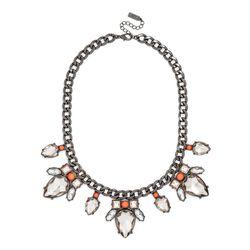 """<b>Baublebar</b> Electric Scarab Collar, <a href=""""http://www.baublebar.com/electric-scarab-necklace.html"""">$44</a>"""