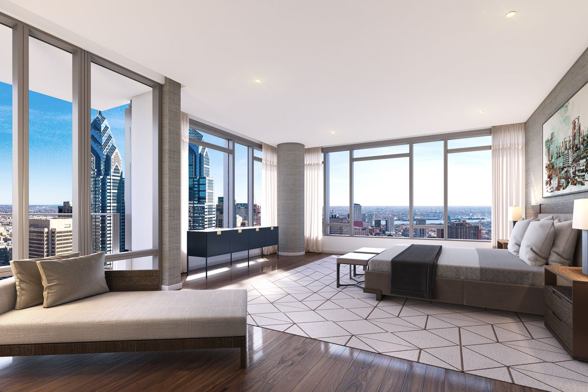 Inside The Laurel Luxury Tower At Rittenhouse Square