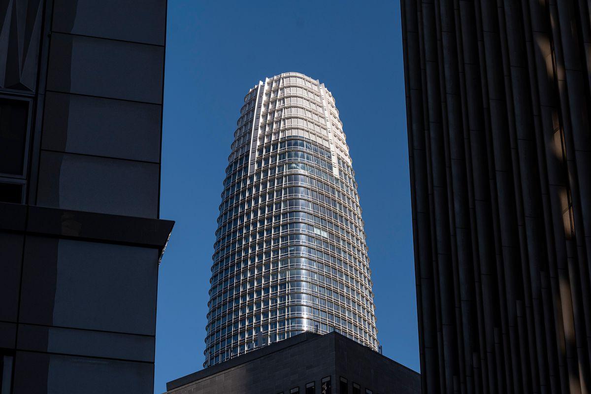 Salesforce Headquarters Ahead Of Earnings Figures