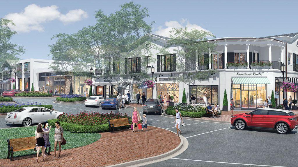 Pacific Palisades Village rendering