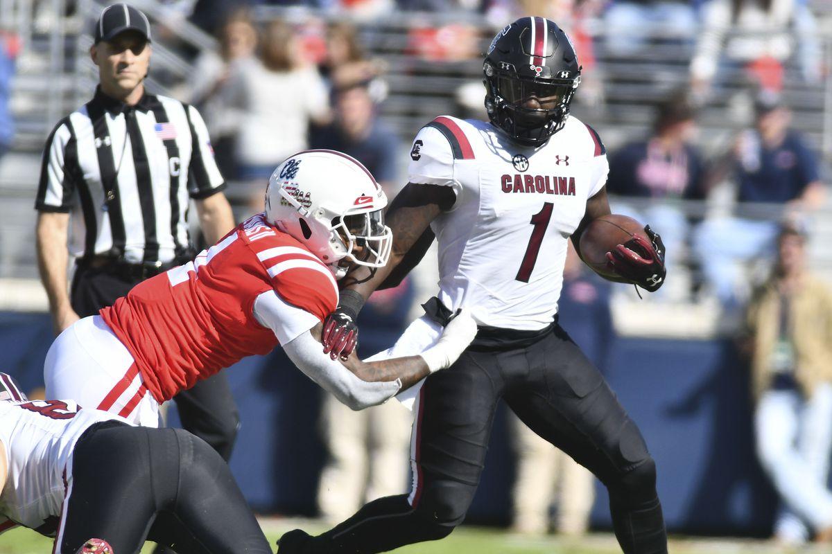 NCAA Football: South Carolina at Mississippi