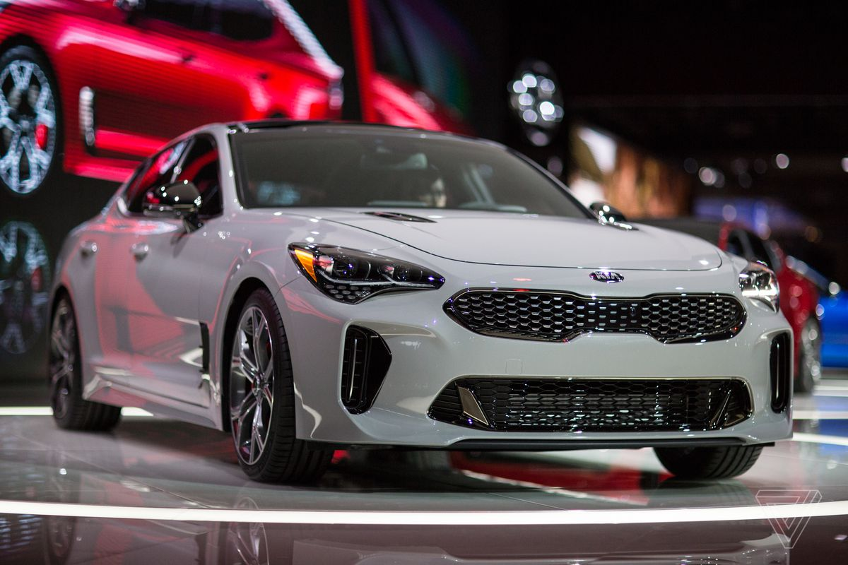 The Detroit Auto Show In Pictures The Verge - Auti car