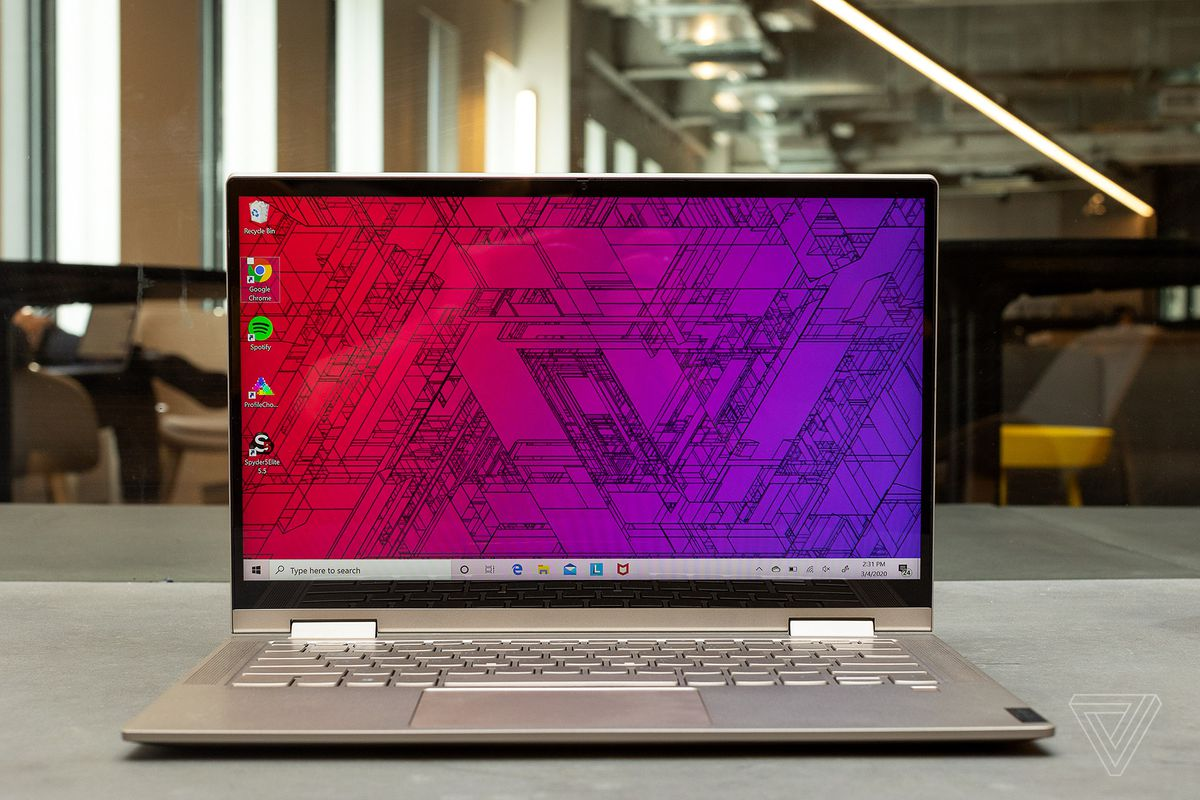 Best Laptops 2020: Lenovo Yoga C740