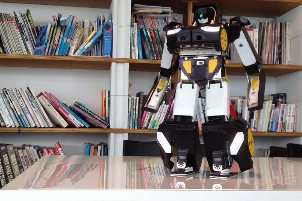 brave robotics transformer