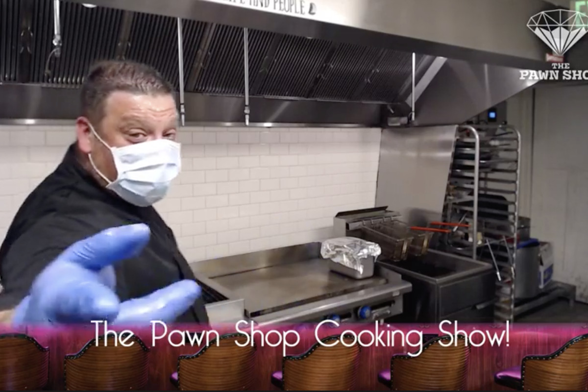 Pawn Shop chef Nick Ronan on his livestream cooking show