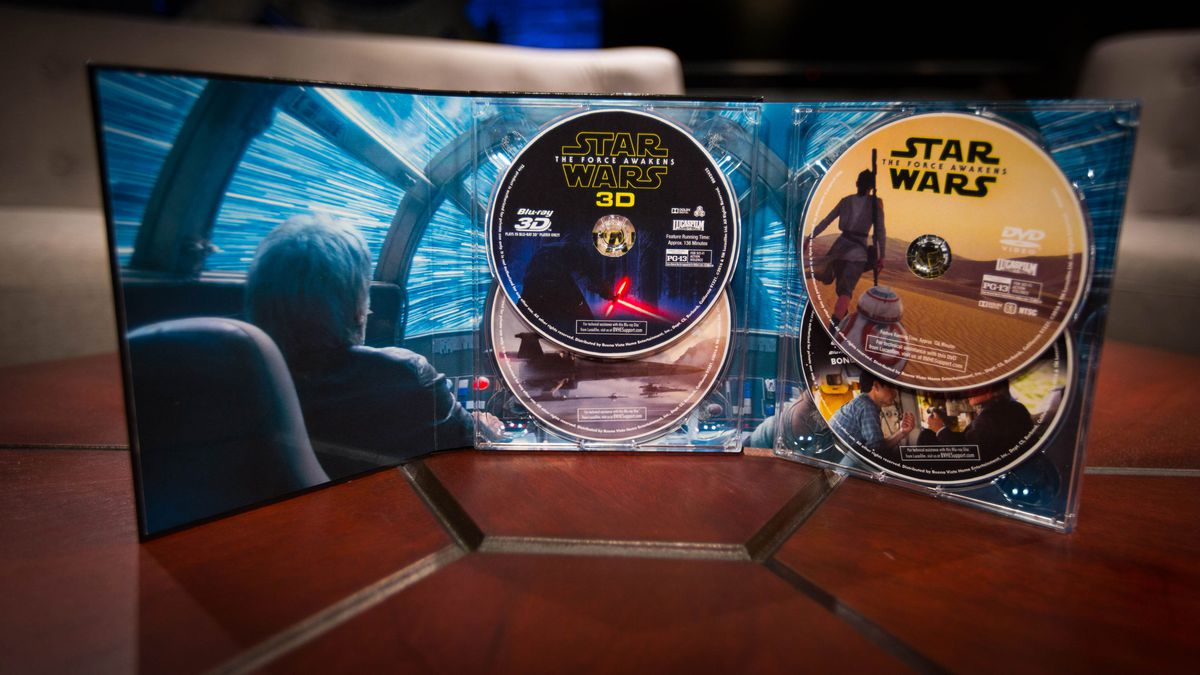 Star Wars: The Force Awakens 3D Collector's Edition inner packaging