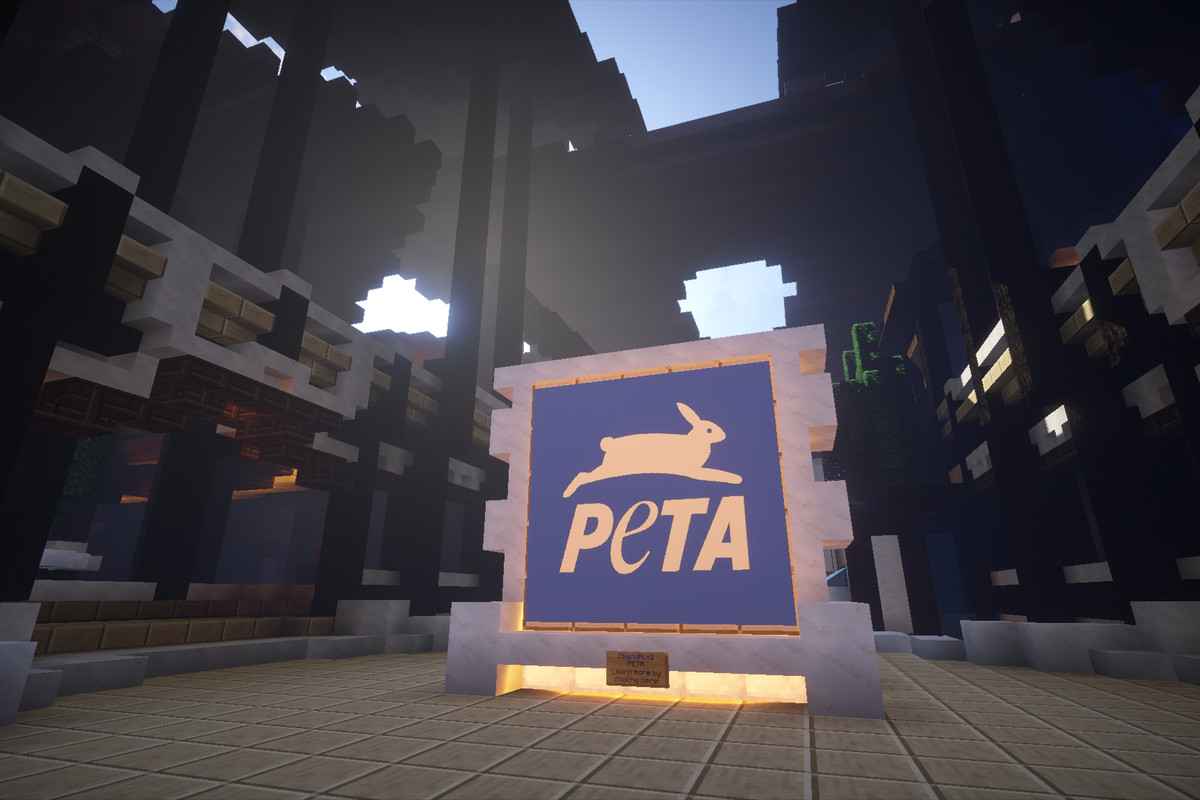 PETA opens headquarters in Minecraft, creates animal utopia - Polygon
