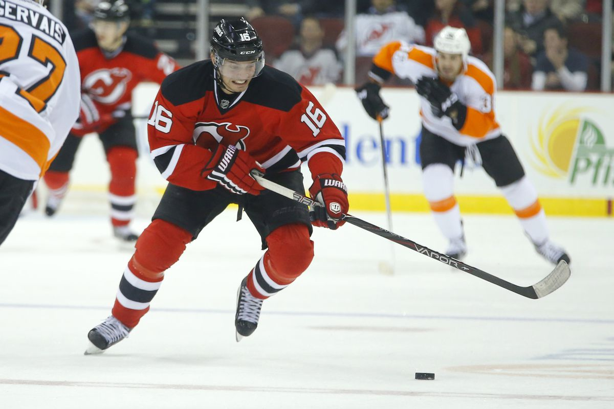 Jacob Josefson will be back with the Devils for another year on an inexpensive contract.